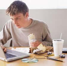 alimenti e computer
