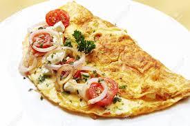 omelette e cipolle