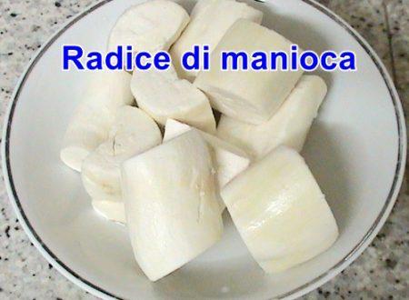 La radice di manioca, per celiachia e tumori